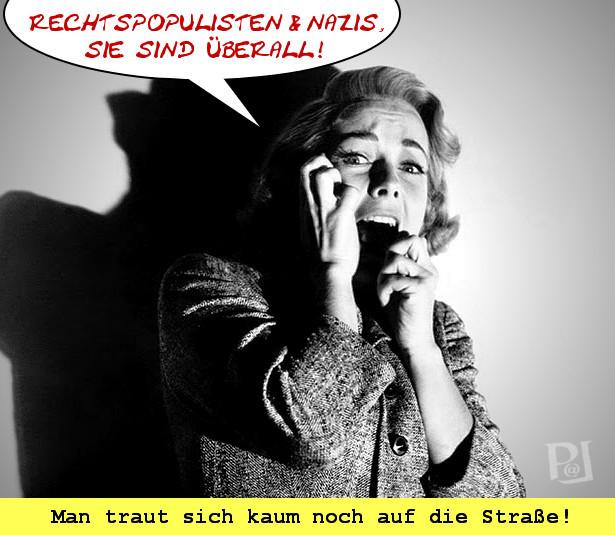 Rechtspopulisten-Psycho