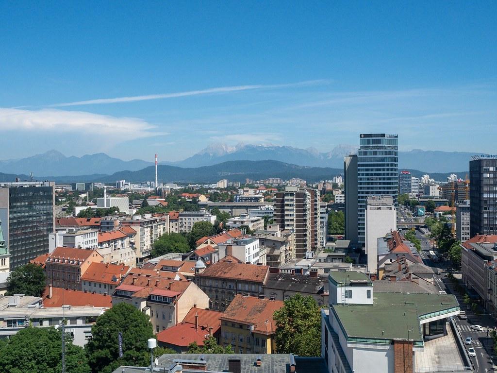 Skyscraper Ljubljana