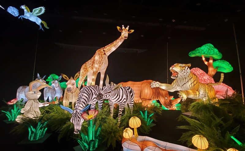 CNE lantern festival animals