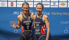 Fantastická Frintová obhájila vítězství na Světovém poháru v triatlonu