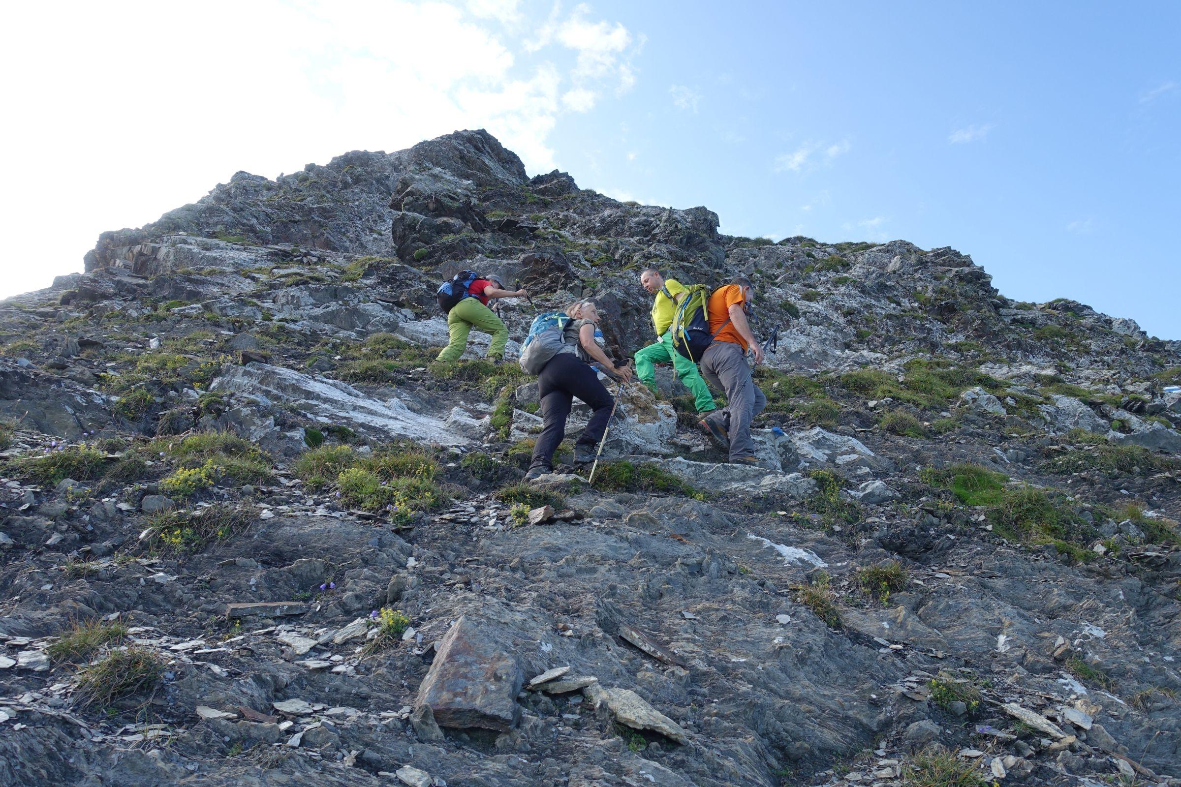 Alpinwanderung Mittaghorn 24.08.2019