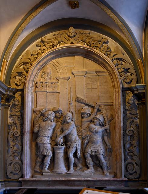 Paderborn, Westfalen, Dom, Matthiaskapelle, niche
