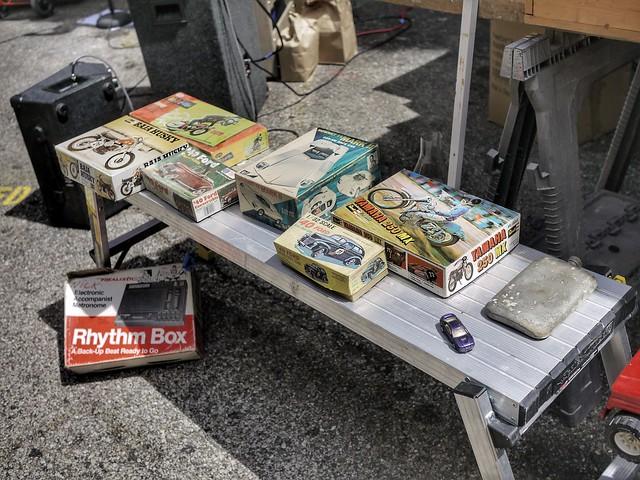 Trick Dog flea market on 4th St