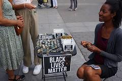 vending black lives matter jewelry @ washington square park