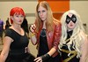 A team of Marvel heroes: Black Widow, Scarlet Witch and Ms. Marvel at Silicon Valley Comic-Con last Sunday! More pics from SVCC at flic.kr/s/aHsmGiBKAX #svcc #svcc2019 #cosplay #marvel #marvelcomics #marvelcosplay #blackwidow #blackwidowcosplay #scarletwi