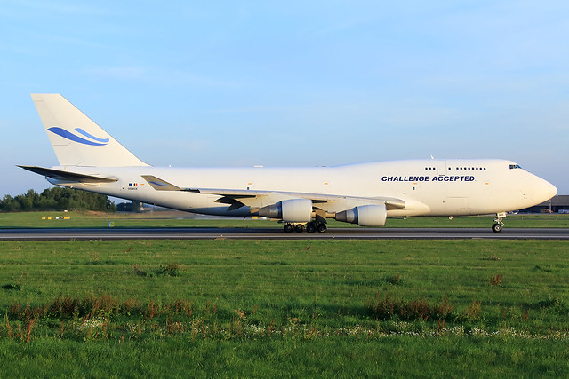 ACE Belgium Freighters  Boeing 747-412(BCF) OO-ACE