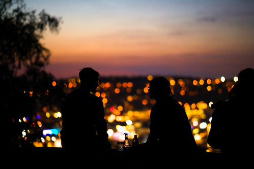 stuttgart night teehausweisenburgparkstuttgart sonyalpha7r2 sonyalpha7rii sonyαmo sonyα sonyamo summer summerevening romantic city citylight citylights bokeh bluehour sunset evening nighttime samyang85mmf14 serenade glasses