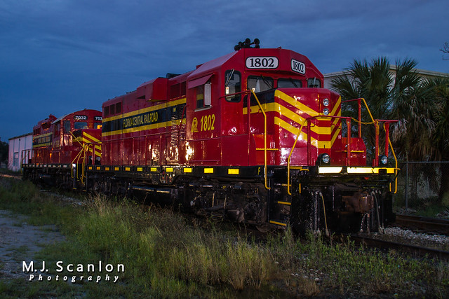 FECN 1802 | EMD GP11 | Florida Central Railroad