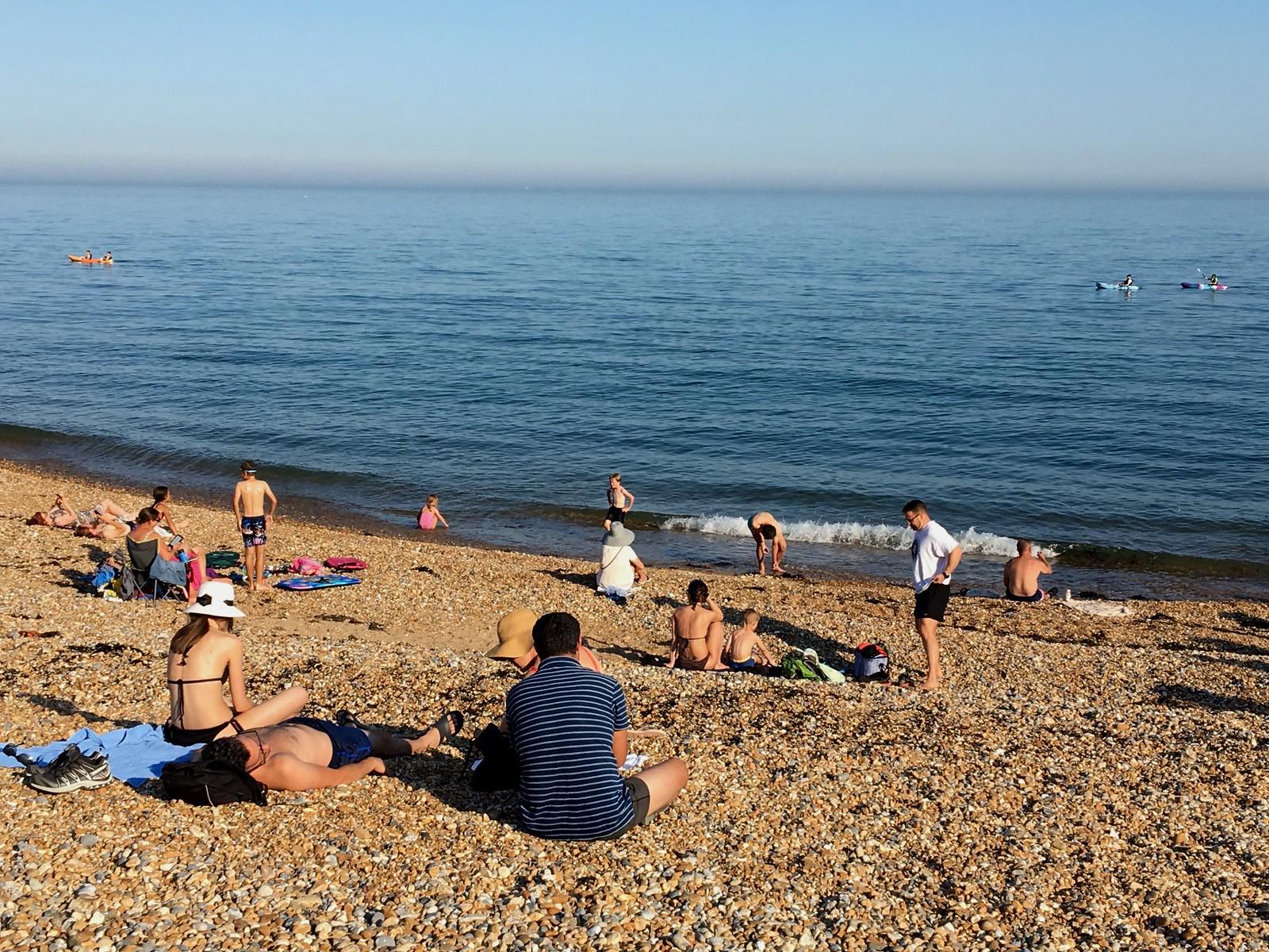 August 25, 2019: Berwick to Eastbourne Eastbourne beach