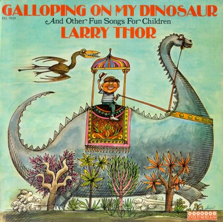 Galloping on My Dinosaur Front