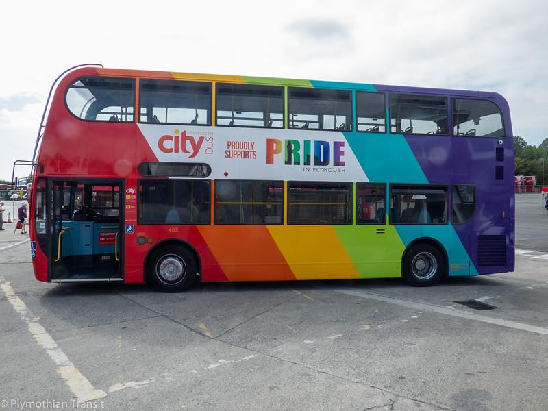 plymouth Citybus 465 LX06EZS
