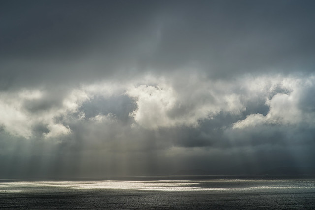 Sunrays over Bantry Bay