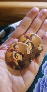 Saint Anthony buttons