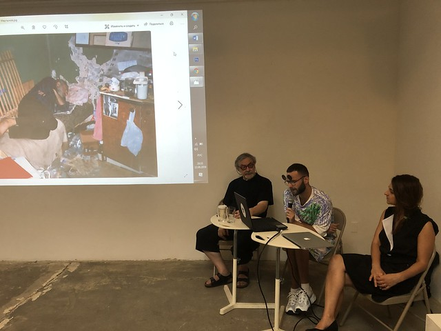 Meet Over Lunch: Ian Ginsburg in Conversation with Vitaly Komar