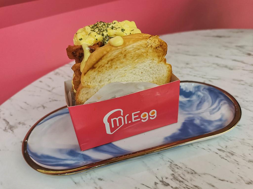 mr. egg 韓風手做三明治 (5)