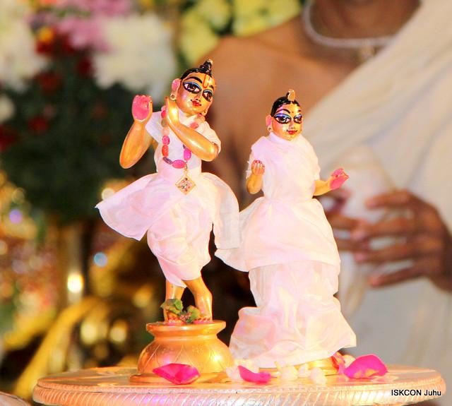 ISKCON Juhu Sri Krishna Janmashtami Abhishek 24th Aug 2019