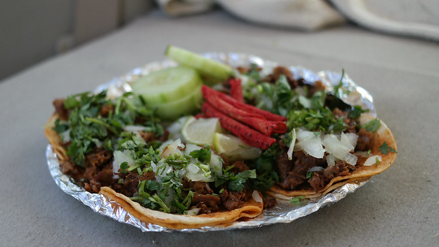 Birria Tacos from Tex-Mex Kitchen Truck in Des Moines, Iowa