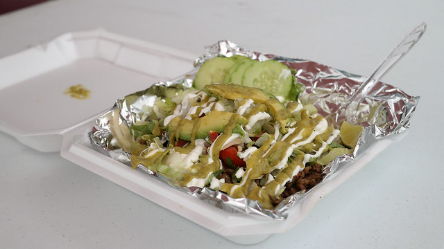 Carne Asada Fries from Tex-Mex Kitchen Truck in Des Moines, Iowa