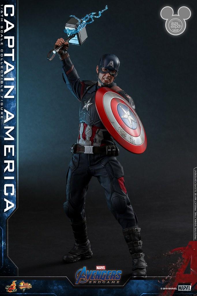 Hot Toys - MMS526 -《復仇者聯盟:終局之戰》美國隊長 (特別版) Captain America (Special Edition) 1/6 比例人偶作品