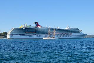 Cruise Ship Carnival Spirit