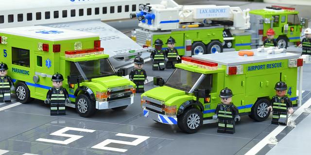 Lego Fire ARFF Task Force
