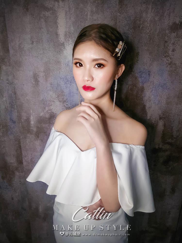 【新秘Catlin】新娘造型創作 / 韓系優雅造型