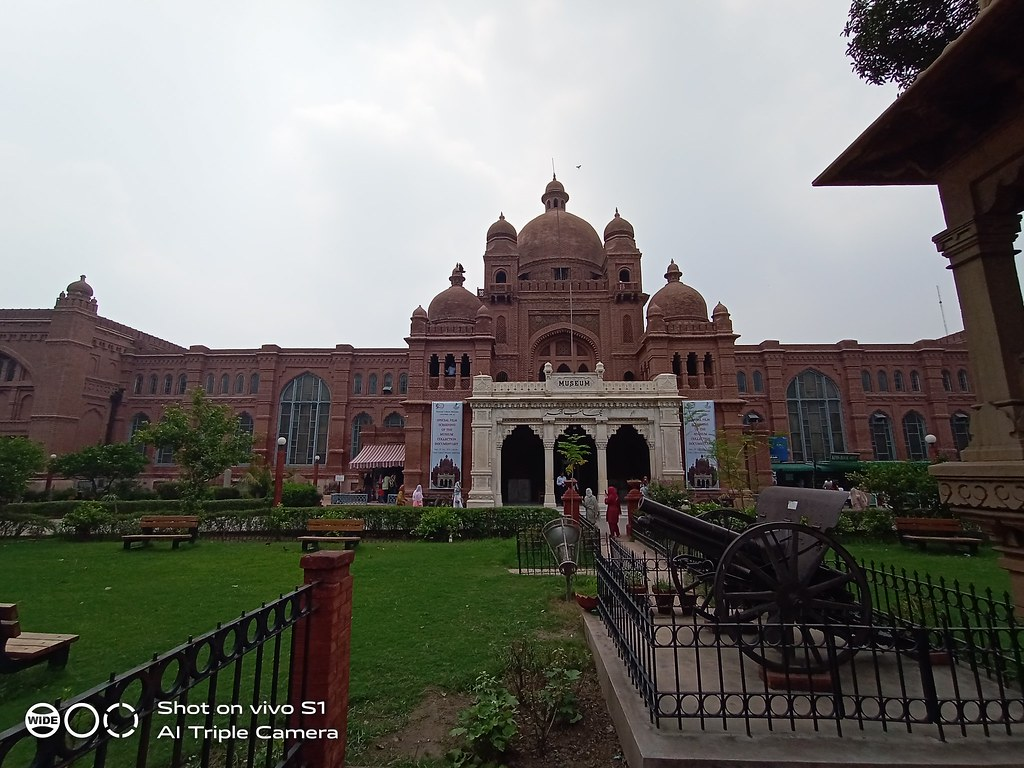 Lahore Museum Picture with Ultra Wide angle Lens on Vivo S1