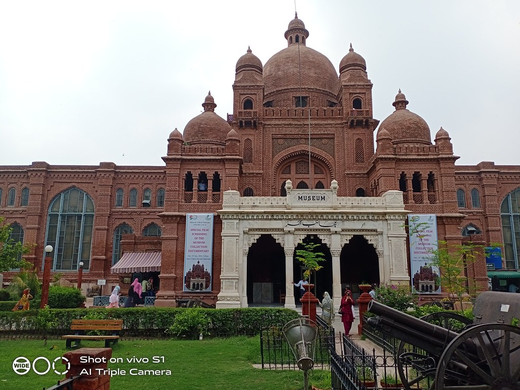 Lahore Museum Picture with HDR mode on Vivo S1