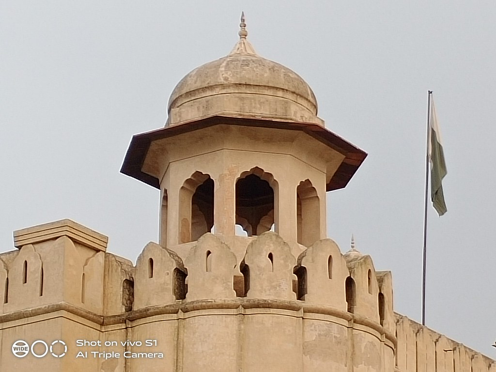 Lahore Fort Picture with 5x Zoom on Vivo S1