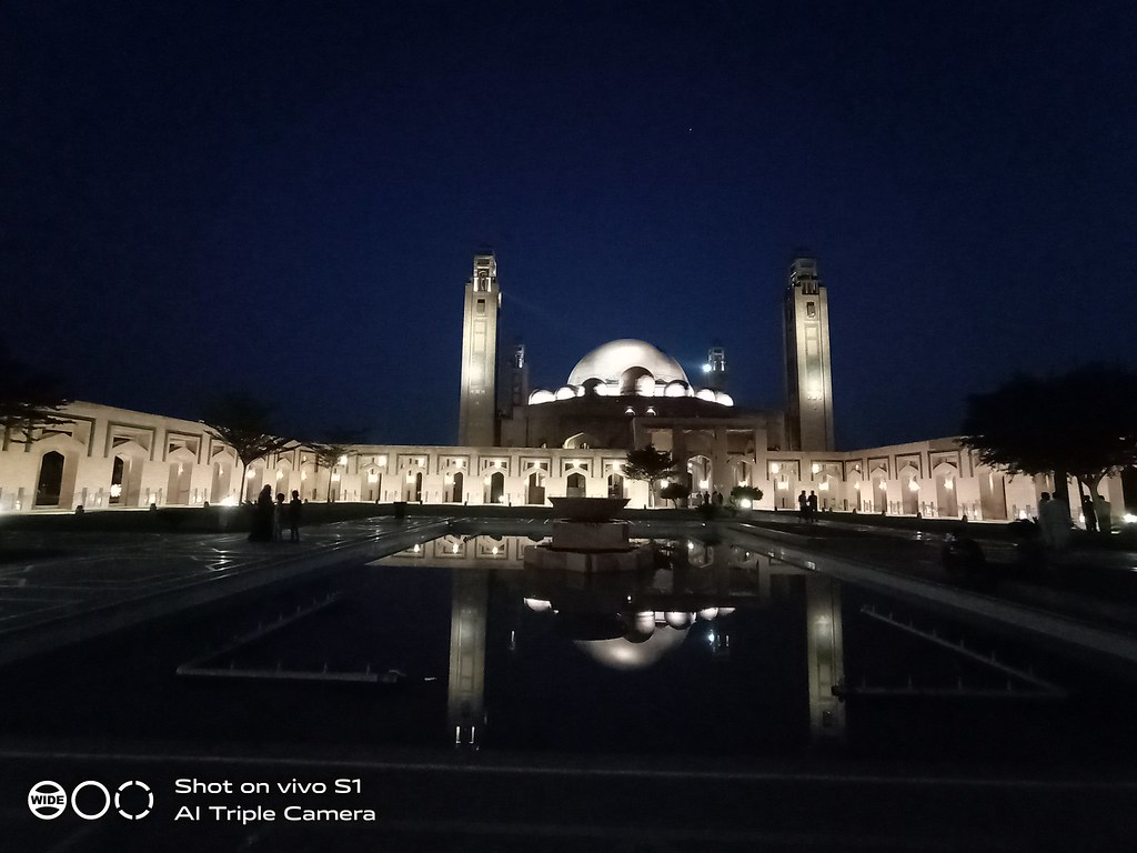 Bahira Mosque Picture with Ultra Wide Angle Lens on Vivo S1