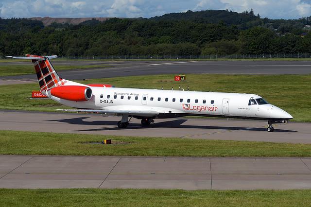 G-SAJS Embraer 145EP EGPH 08-08-19