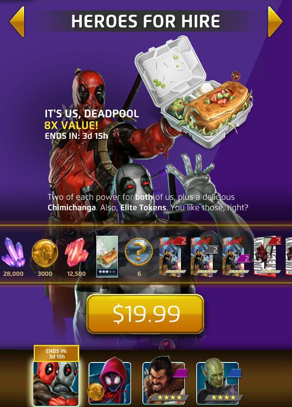 MPQ Deadpool deal