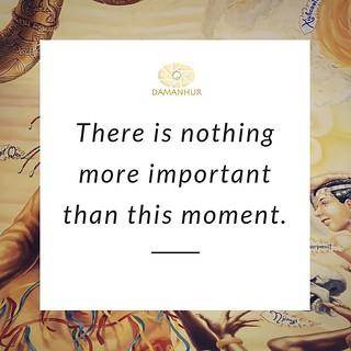 live the present moment