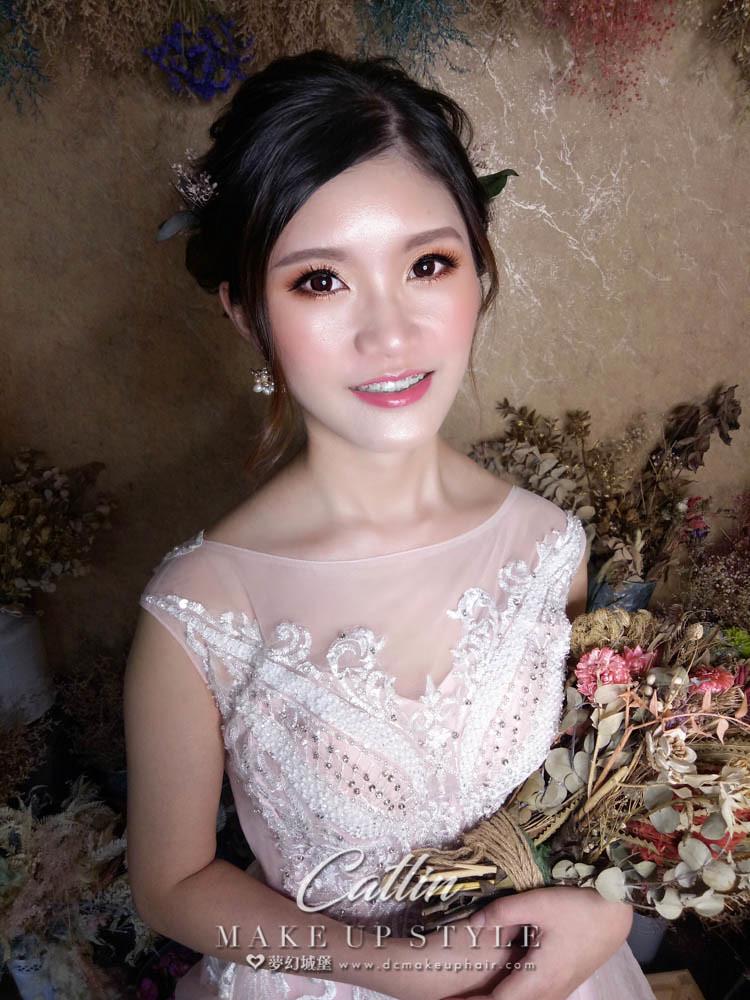 【新秘Catlin】新娘造型創作 / 氣質仙女造型