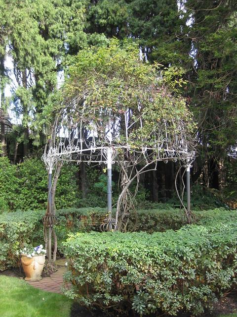A Gazebo in the Gardens of