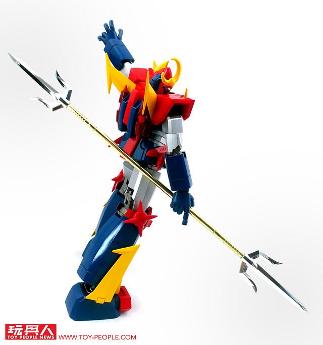 集結神家族力量的最強機器人!超合金魂 GX-84 無敵超人桑波特3(無敵超人ザンボット3) F.A. 開箱報告