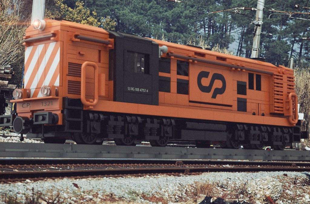 LEGO CP1320 Alco (Ex Renfe Class 313)