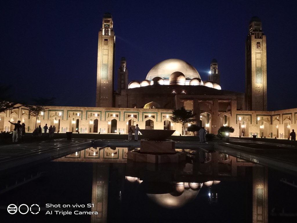 Bahira Mosque Picture with Auto Mode on Vivo S1