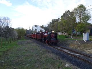 Straight line steam