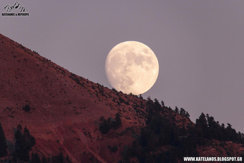 ανατολη σεληνης ελατα βουνο