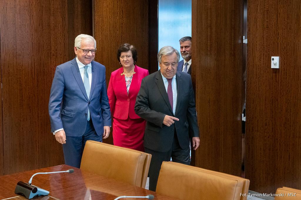 Wizyta ministra Jacka Czaputowicza w Nowym Jorku i Chicago