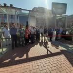 Inauguración de los accesos al aparcamiento de la Plaza Mayor (5-8-2019)