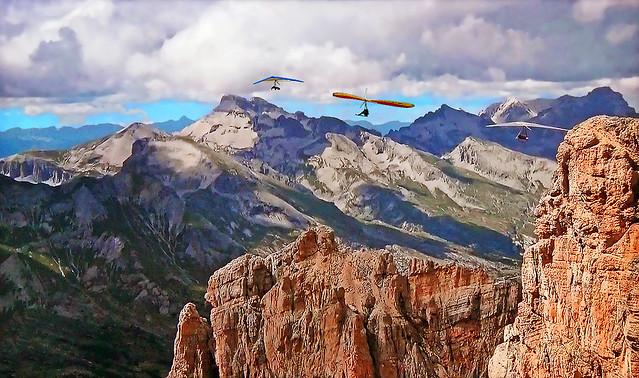 FRANCE - ALPS - Hang-gliding