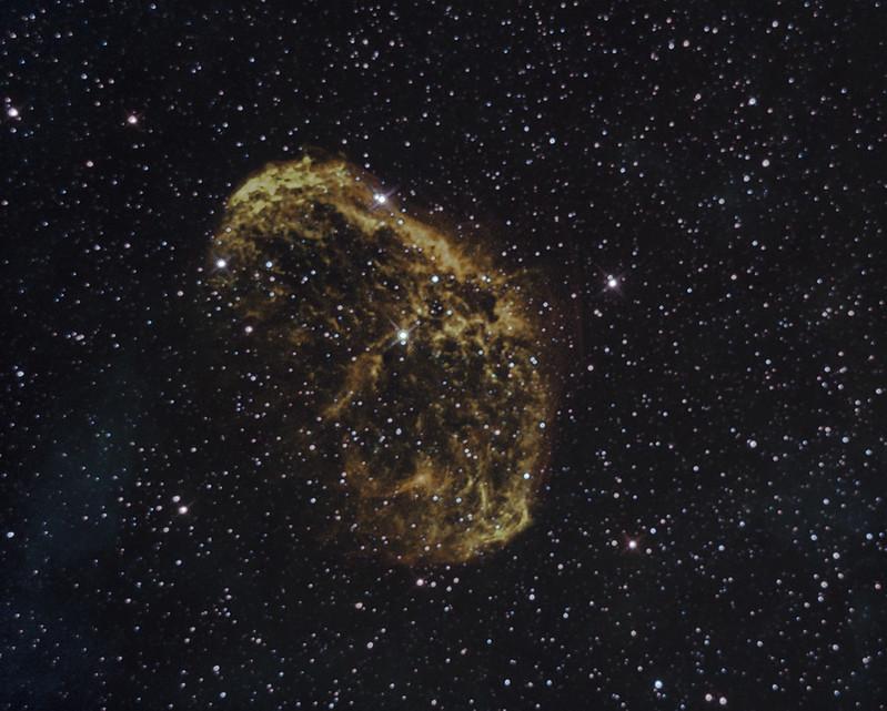 Crescent Nebula NGC6888 SHO