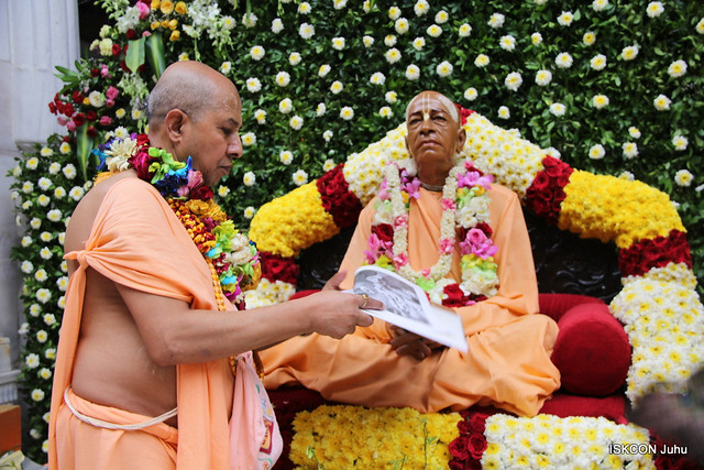 Glorification  of Srila Prabhupad by ISKCON Juhu Devotees - 25th August 2019