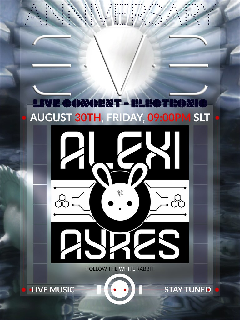 LIVE ELECTRONIC CONCERT BY ALEXI AYRES AT E.V.E ANNIVERSARY CELEBRATIONS