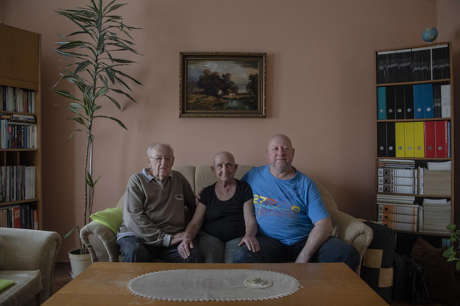 József szüleivel | Fotó: Hajdú D. András