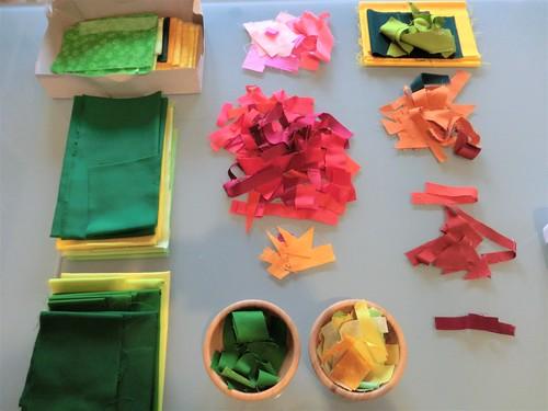 raccolta colori e frammenti