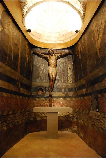 Capilla del Santo Cristo (Javier, Navarra, España, 9-7-2012)