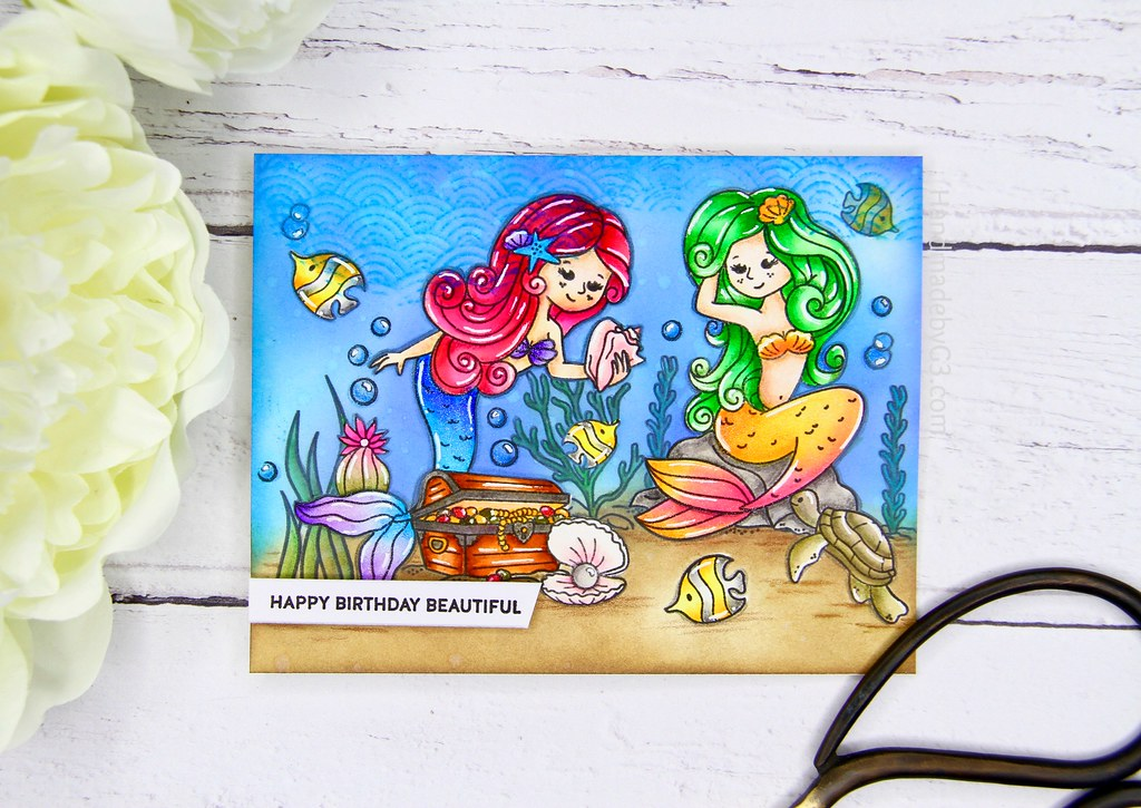 Mermaid card 1